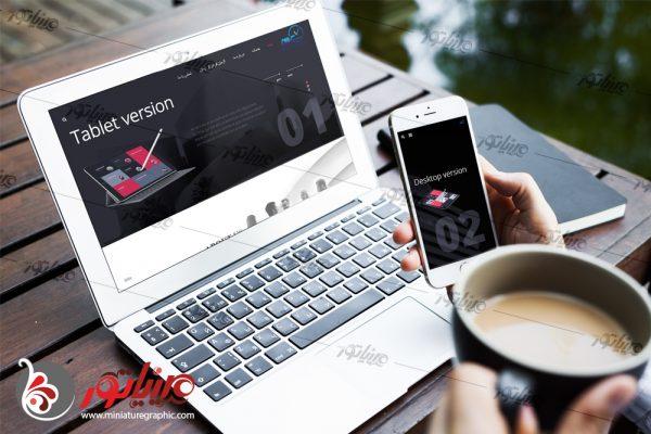 طراحی قالب وب سایت مشاوران بازاریابی آژمان azhmangroup.com