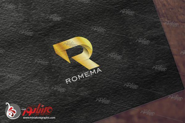 طراحی آرم کمپانی رُِمِما فرانسه ( زمینه فعالیت مدلینگ و میکاپ )