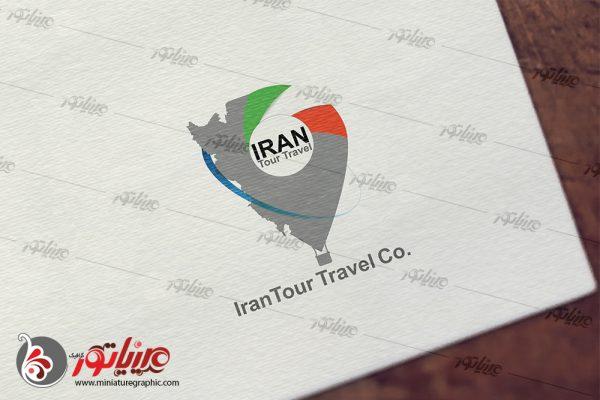 طراحی آرم گردشگری ایران تور تراول