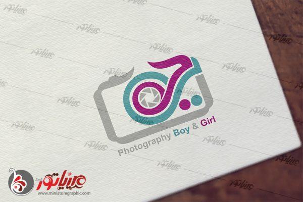 طراحی آرم و لوگو تایپ آتلیه بی جی BG