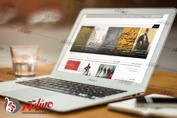 طراحی وب سایت مرجع هنری لیقه  ligheh.ir