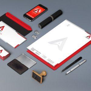 طراحی کارت ویزیت شرکت عصر آسیا